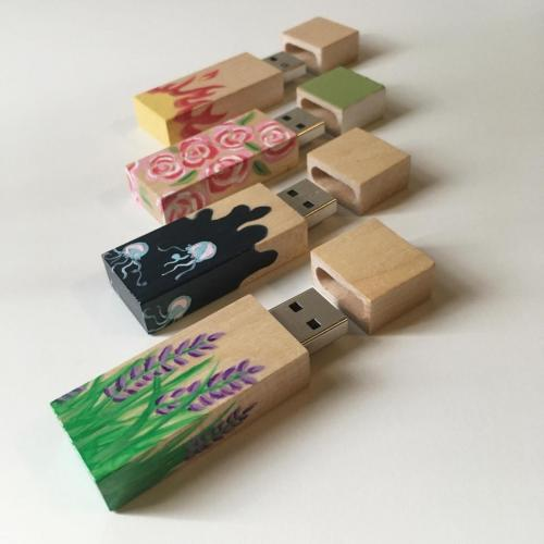 Painted flashdrives