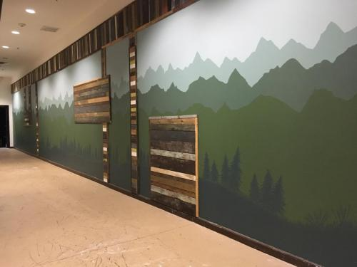 Mural for a local property